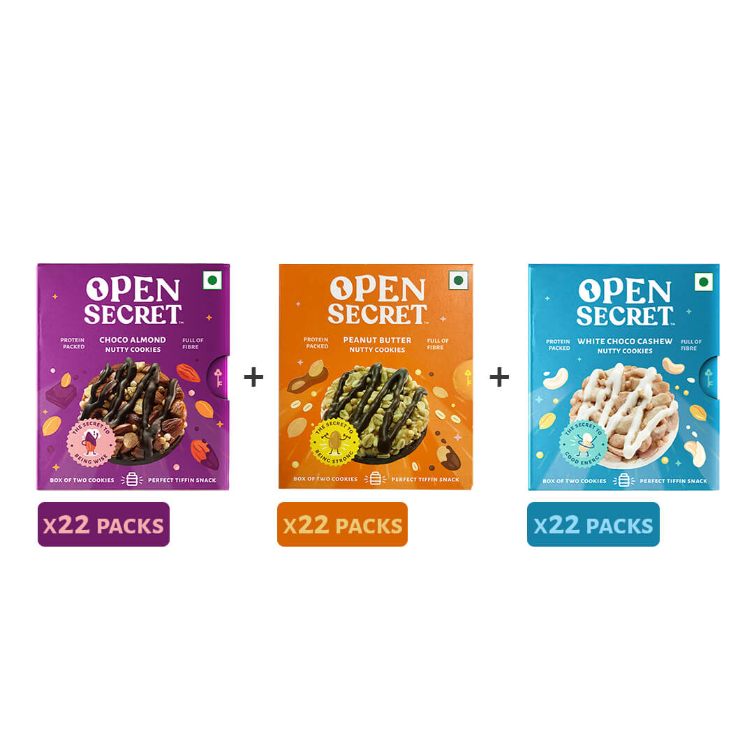 Tiffin Pack (66x of all 3 flavours)