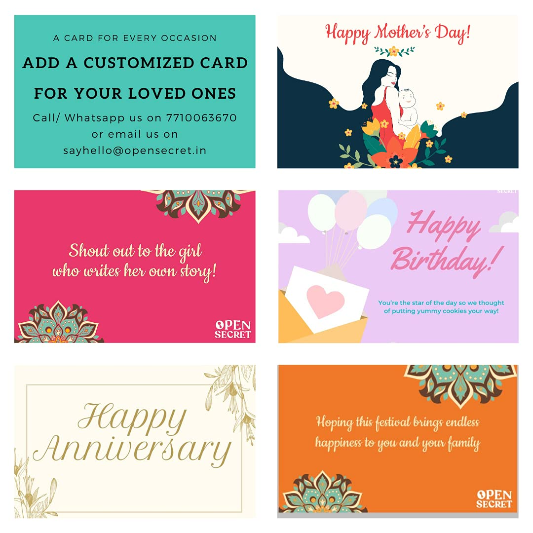Customized gift cards for occasions